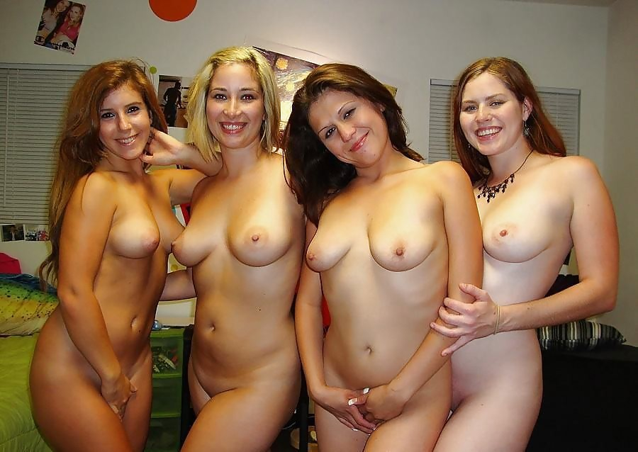 groups of naked amateurs