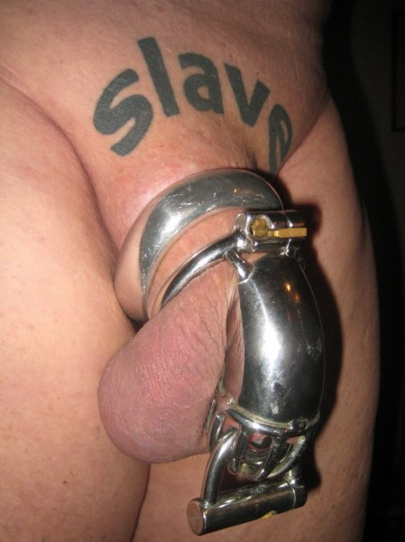 permanent male chastity piercings