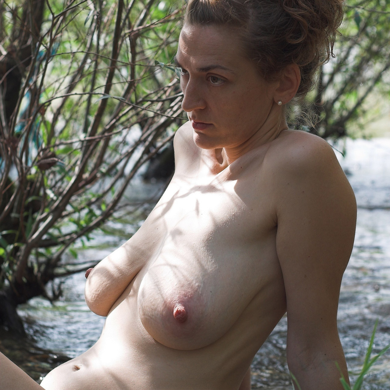 Nude women with sagging tits