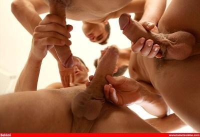 Gaelan Binoche, Dylan Ayres and Phillipe Gaudin, big cocks, hardcore twink sex