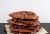 Flourless Triple Chocolate Cookies