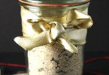 Homemade Gift: Cookie Mix in a Jar Collage // 24 Carrot Life #glutenfree