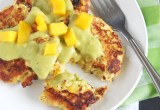 Mango Coconut Tuna Cakes // 24 Carrot Life #sponsored #protein