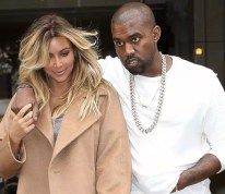 Kim Kardashian Front Nude Pics Hit The Net And Kanye West Supports