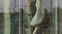 Ri Ri looking at window