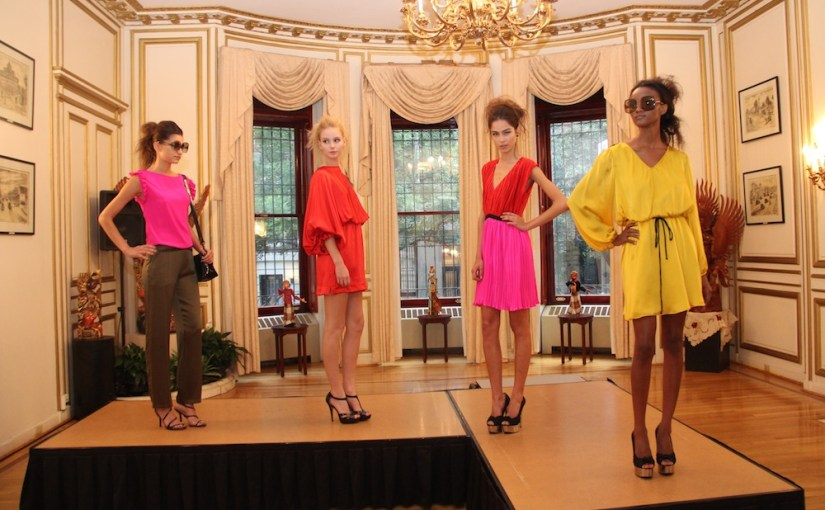 RADENRORO NY Spring/Summer 2012 Presentation @Mansion of Consulate General of the Republic of Indonesia