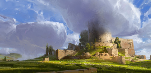 Fortress of Summer by dorje