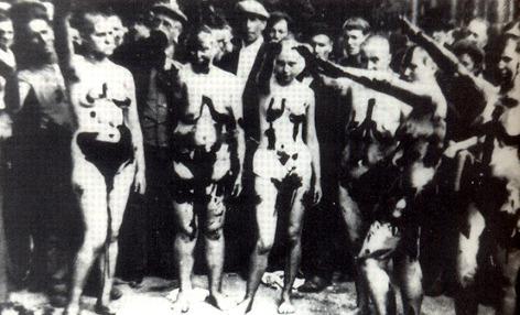 ww2 collaborators stripped