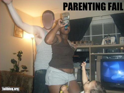 naked parent fail