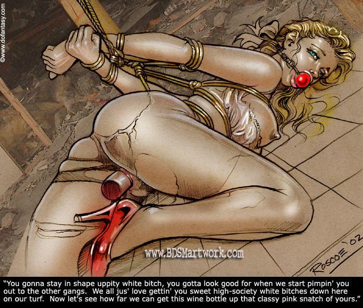 vintage female bondage and torture art on tumblr - DATAWAV