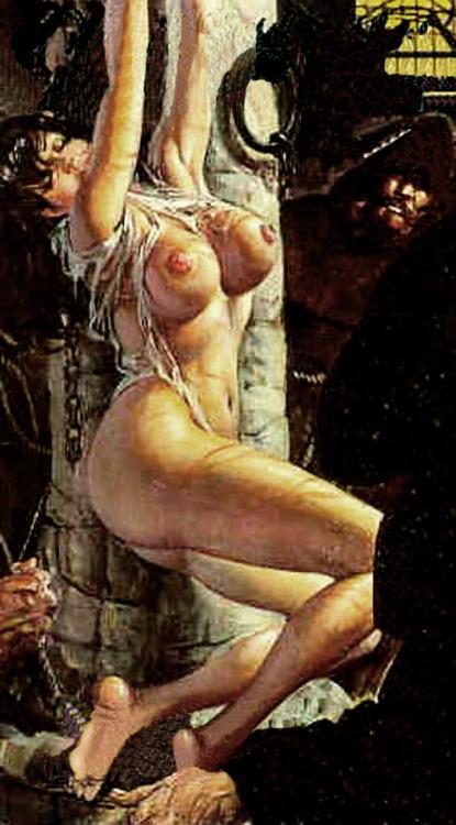 crucifixion in bdsm art