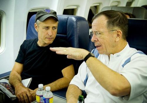 Jon Stewart's Morale Boosting USO Tour of Afghanistan