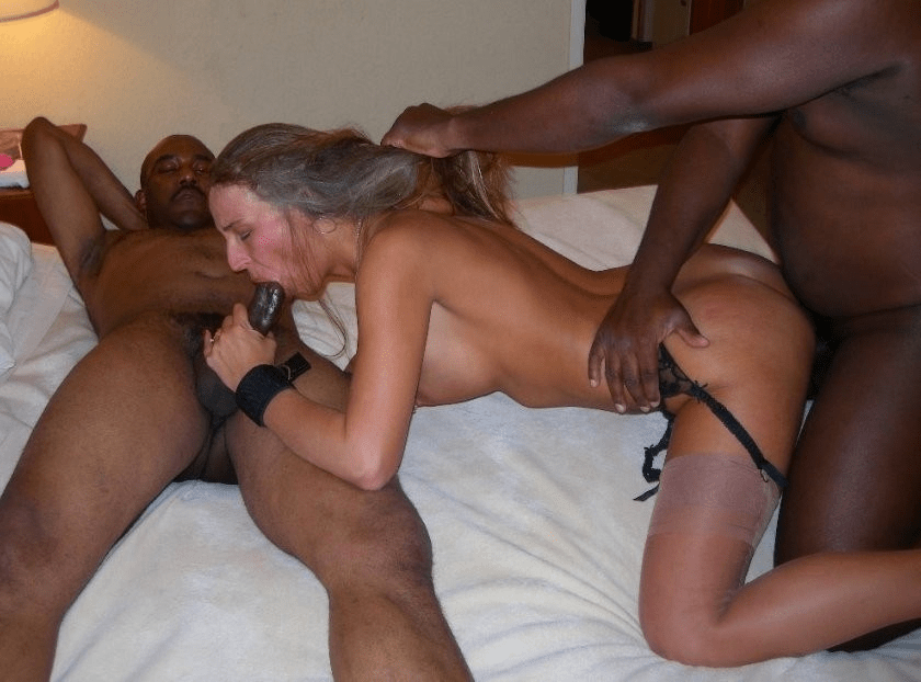 For interracial cuckold threesome remarkable, very