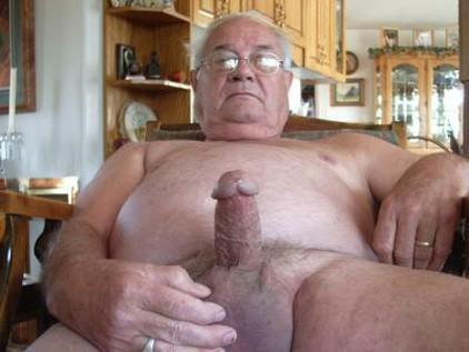 grandpa big cock erection huge