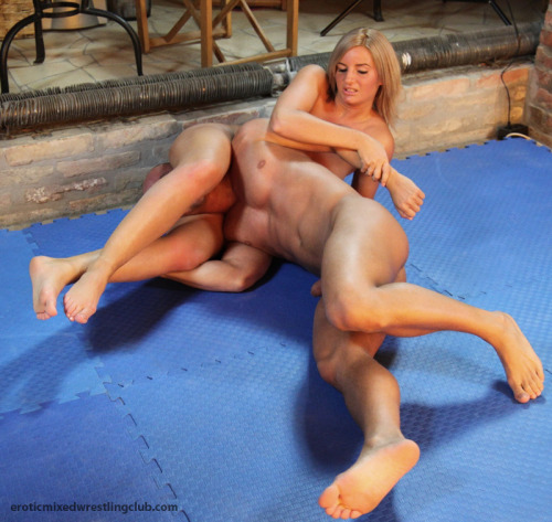 nude mixed wrestling