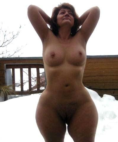 milf naked snow bunnies