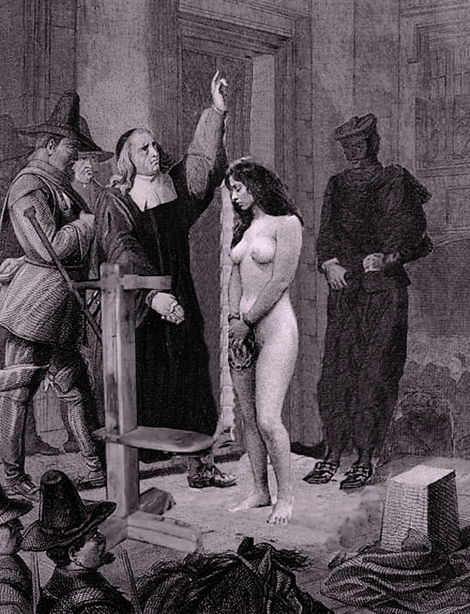 Inquisition Witch Torture Comics