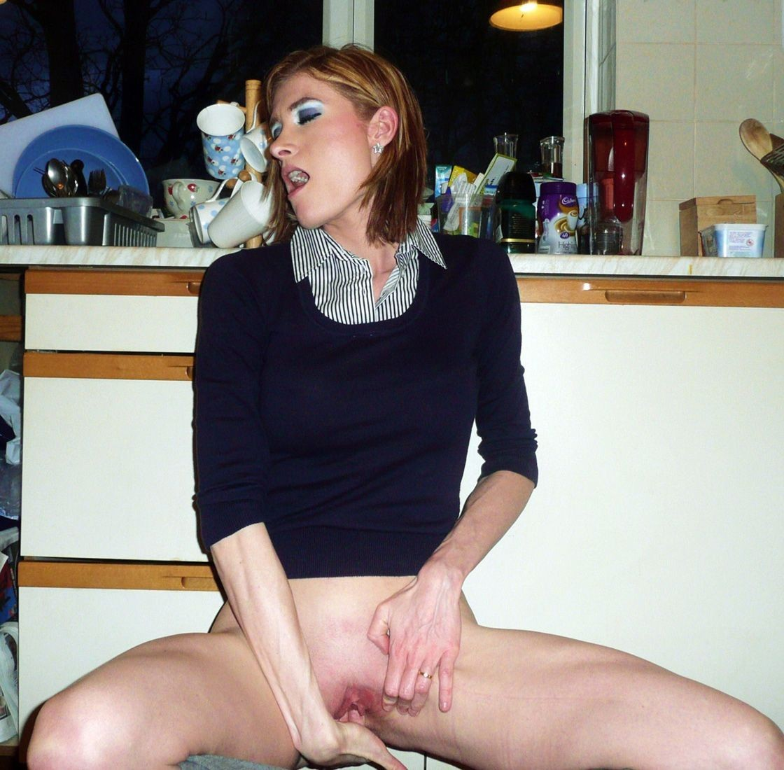 image My milf exposed cuckold busty wife fucked by hired bbc bull