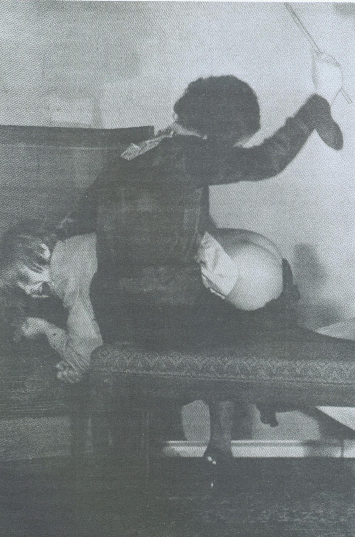 mom spanking daughter bare bottom