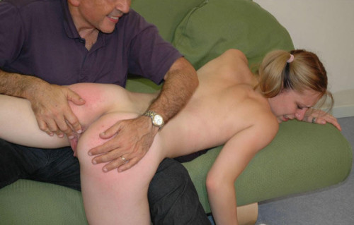 Erotic step father spank