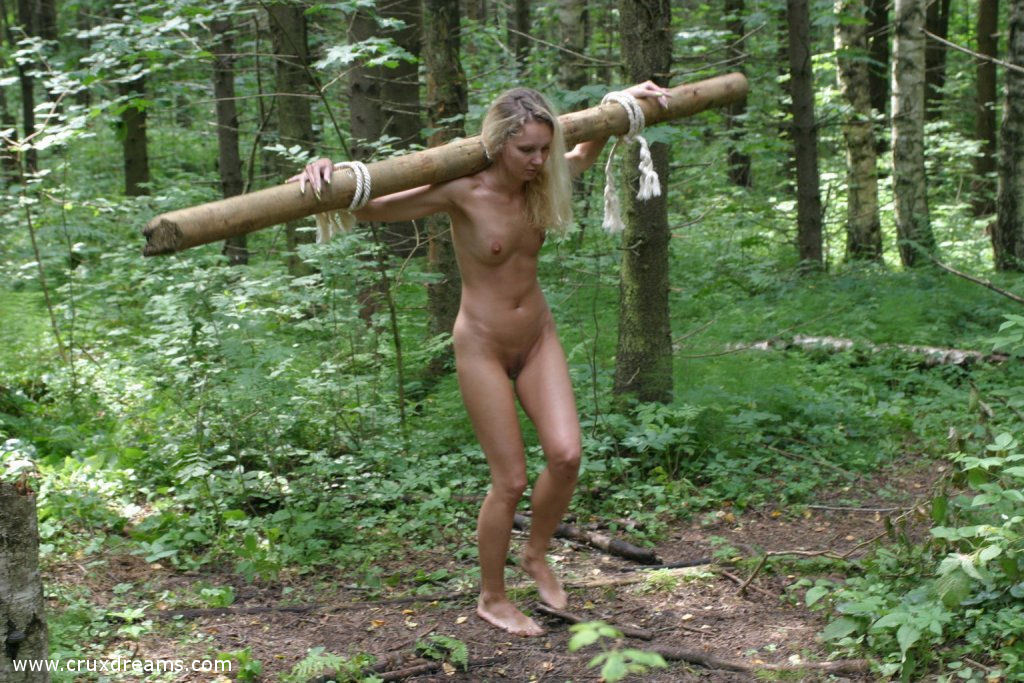 Female crucifixion bdsm opinion, false