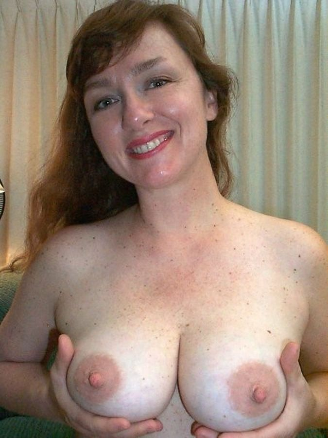 big boobs with freckle chest