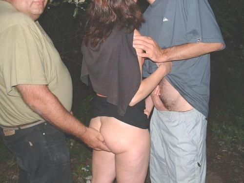 my wife fondled by stranger