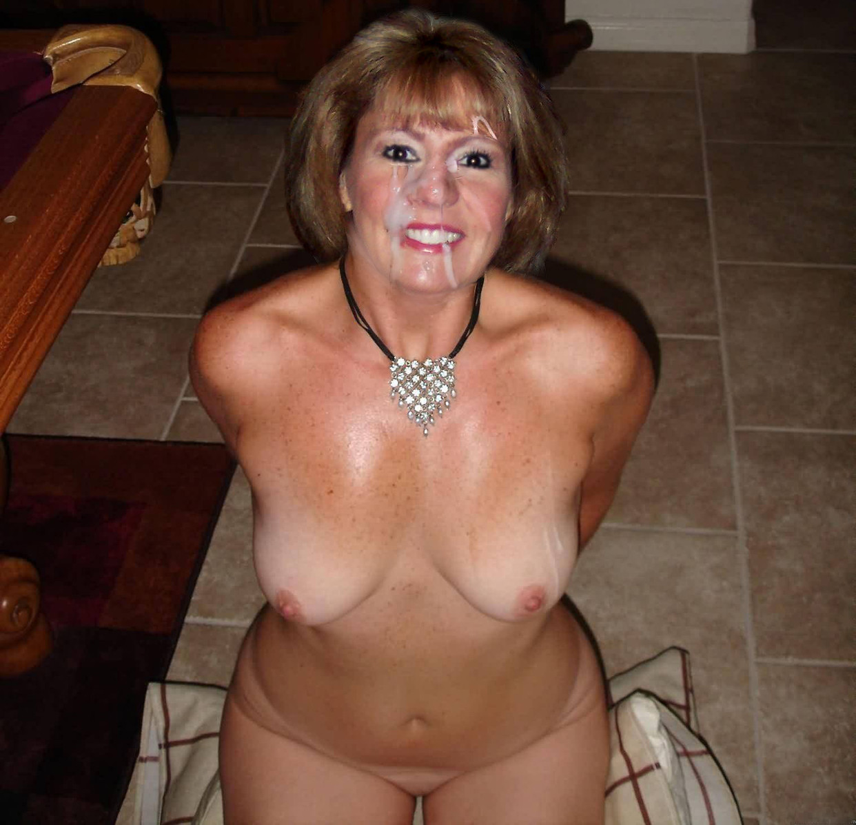 wife forced naked in front of friends