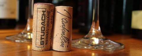 Studach Pinot Noir und Gantenbein Chardonnay