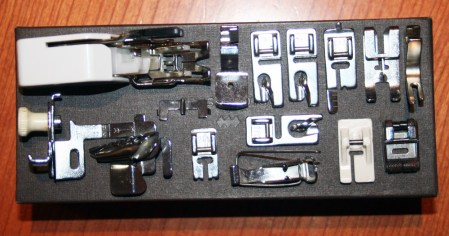 My new Husqvarna Viking Opal 670 + Brother 3034D Home Lock