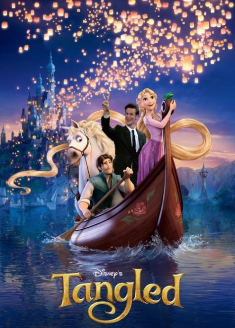Of course, it wasn't long before Matt Smith was in a Disney movie...