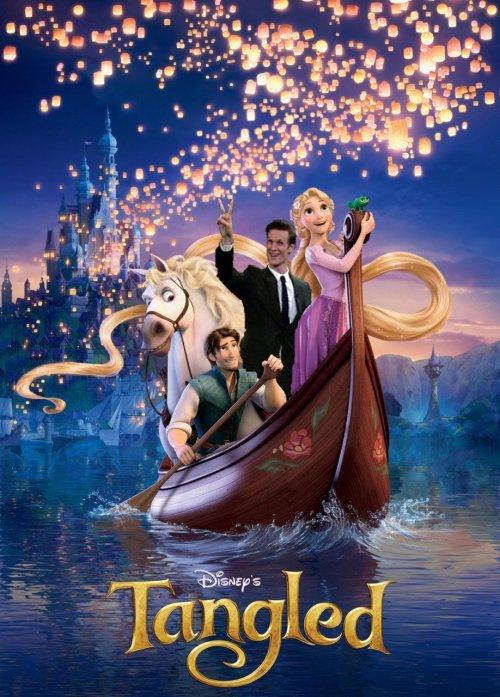 Of course, it wasn't long before Matt Smith was in a Disney movie...