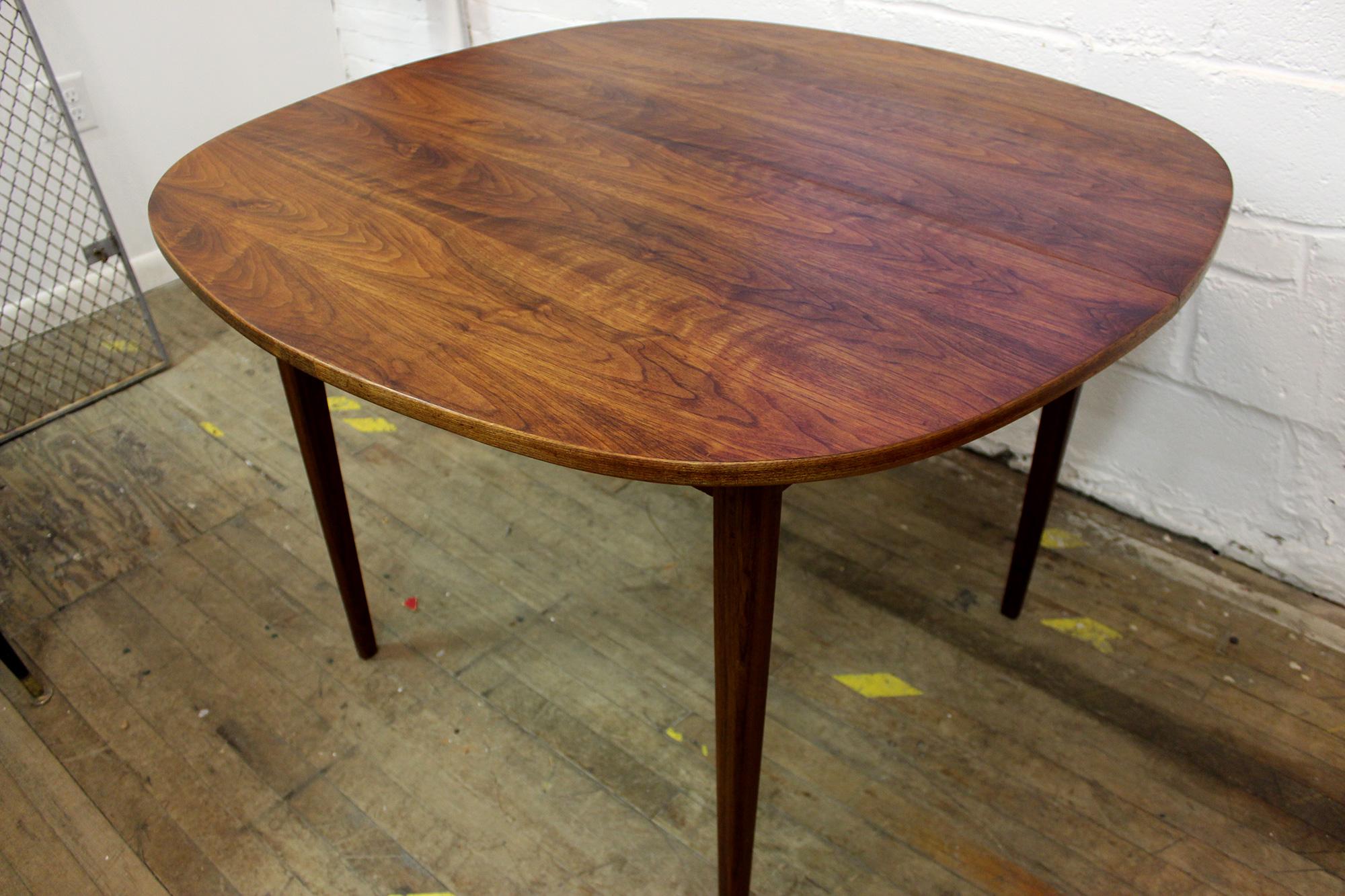 teak dining tables mid century kitchen table Mid Century Solid Teak Dining Table 29royal