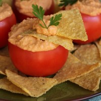 Tomato and Basil Vegan Cheese