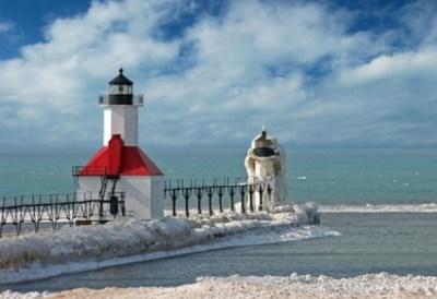 アメリカのミシガン湖が寒すぎてエライことになってる・・・ ※画像※