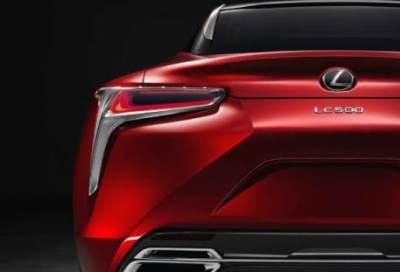 レクサス新型クーペ「LC500」が電気シェーバーみたいだと酷評<画像>フロントグリル替えれば完璧にカッコいいかな(´・ω・`)