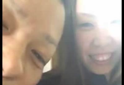 笑顔の人質<狂言籠城動画>愛媛松山市立て籠もり事件 現場の内部映像
