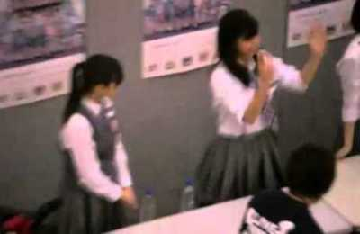 オタクが勘違いしてしまうアイドルの握手会<GIF画像>これは惚れる((*゚▽゚*))
