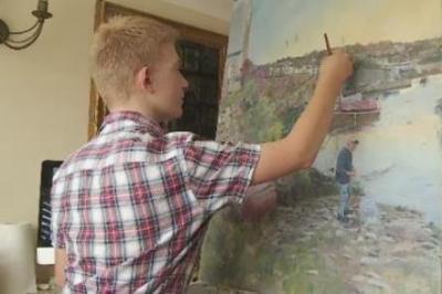 ミニ・モネと呼ばれる神童13歳少年の画力<新作画像>印象派の巨匠モネの再来、画家Kieron Williamson(キーロン・ウィリアムソン)くん