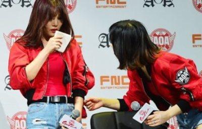 韓国の集団ヒステリー<安重根を知らない>アイドルAOAがライブで謝罪する羽目に