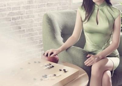 【画像】台湾のエロすぎる囲碁棋士 黒嘉嘉ちゃん!