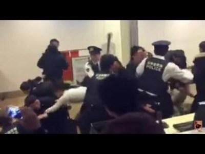中国人100人が新千歳空港で暴動の様子<動画>ガチもんでわろたwwwwww