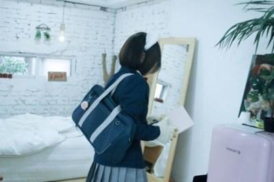 韓国の女性国会議員『公約』でアイマス女子高生コスプレ →画像と動画