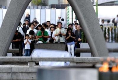 広島慰霊式典で太鼓叩いて「安倍やめろ」コール『こんな人たち』の平和運動