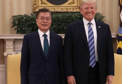 【韓国】文大統領 「日本は同盟相手でない」トランプ大統領は理解すると応じる