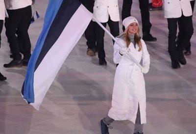 【雪の女王感】平昌五輪エストニアの旗手が美人すぎるとネット騒然<動画像>サスキア アルサル(Saskia Alusalu)さん23歳
