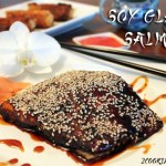 Soy Glazed Salmon for Seafood Month