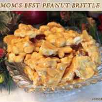 Moms Best Peanut Brittle | 2CookinMamas