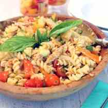 Summer Pasta Salad square