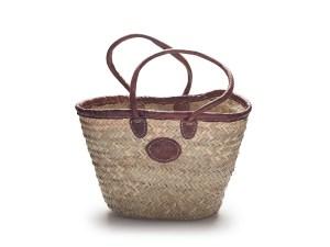 Rustic Long handled basket